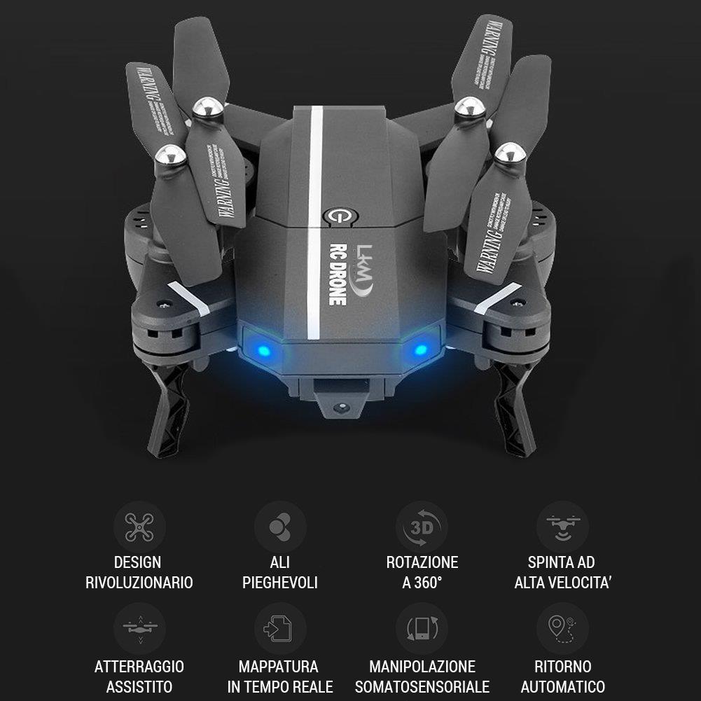 Caratteristiche Tecniche Drone LKM Security