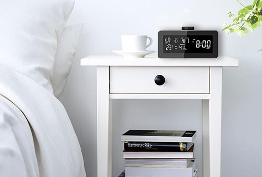 Radio sveglia barometrica lkm security controlla la tua cameretta lookathome notizie e - Telecamera nascosta camera da letto ...