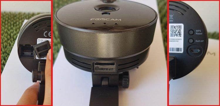 Telecamera IP Wireless Foscam C1