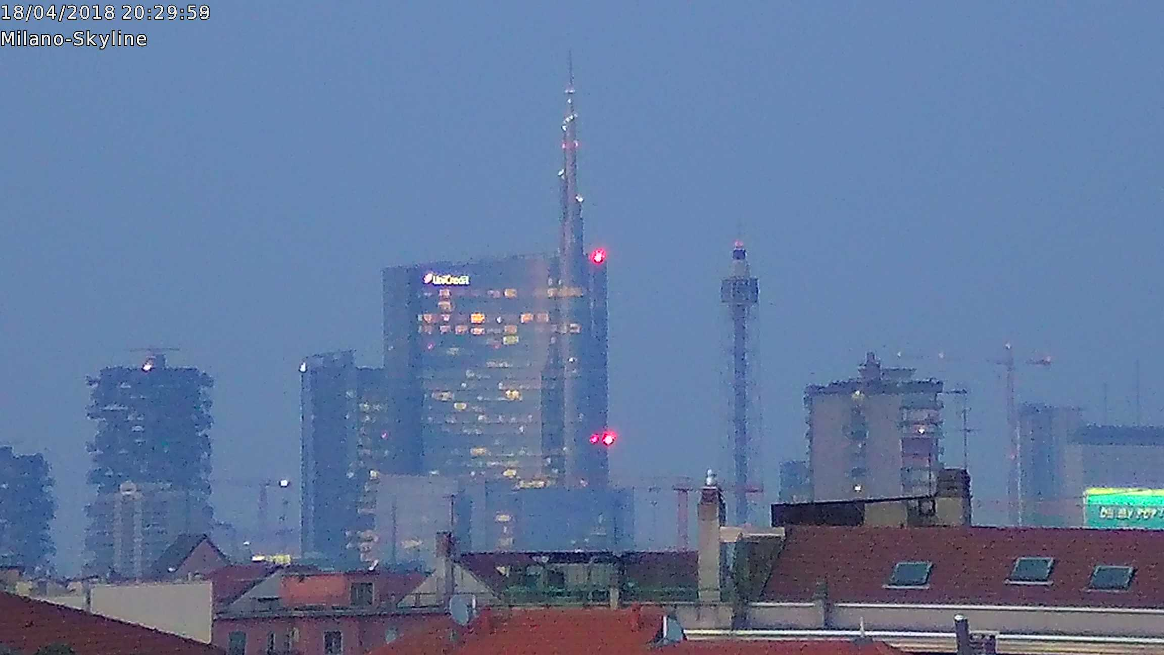 Diretta della città di Milano tramite le Telecamere Foscam (Skyline di Milano)