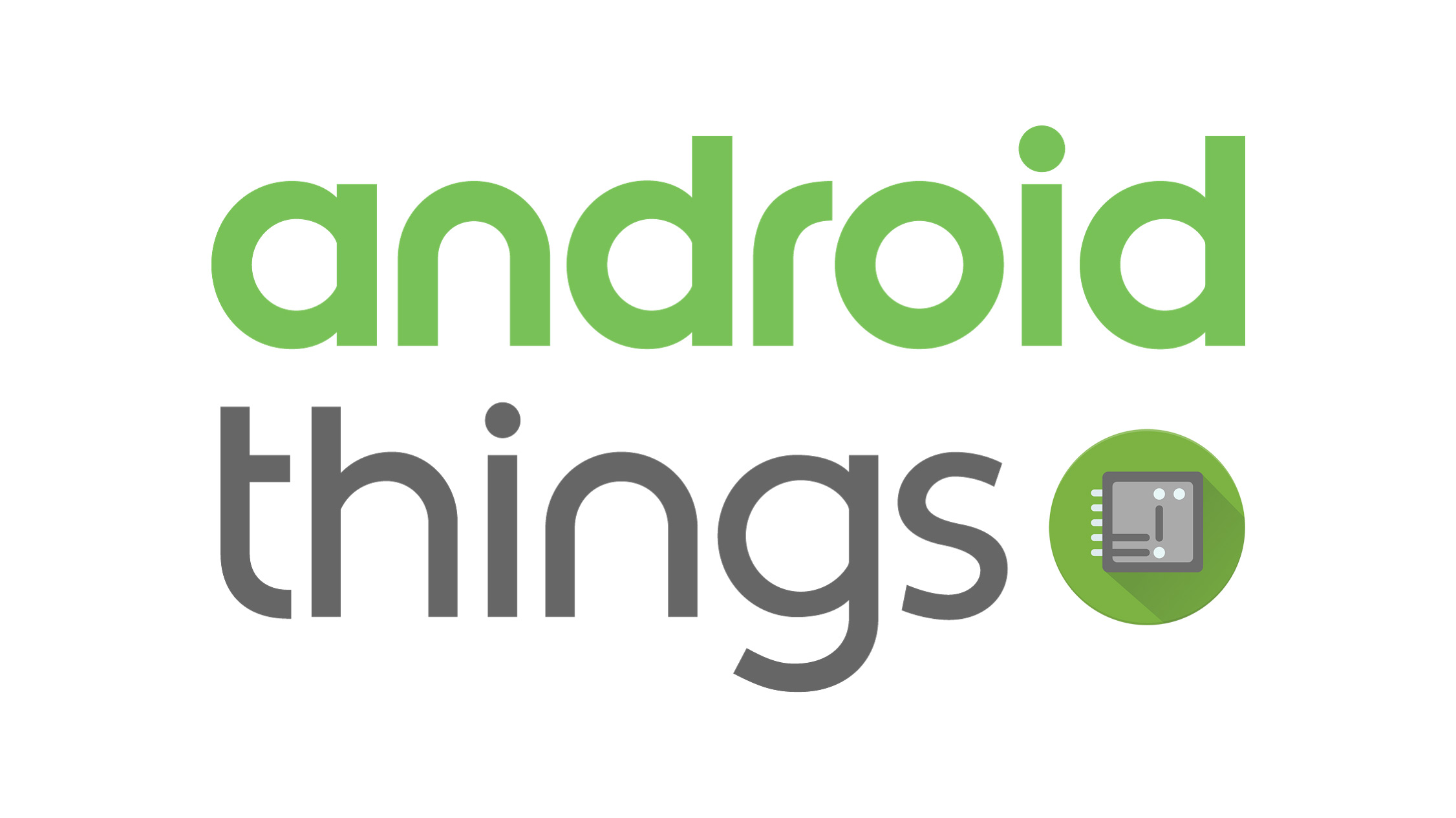 TEcnologia Internet Of Things: Versione Android things V. 1.0