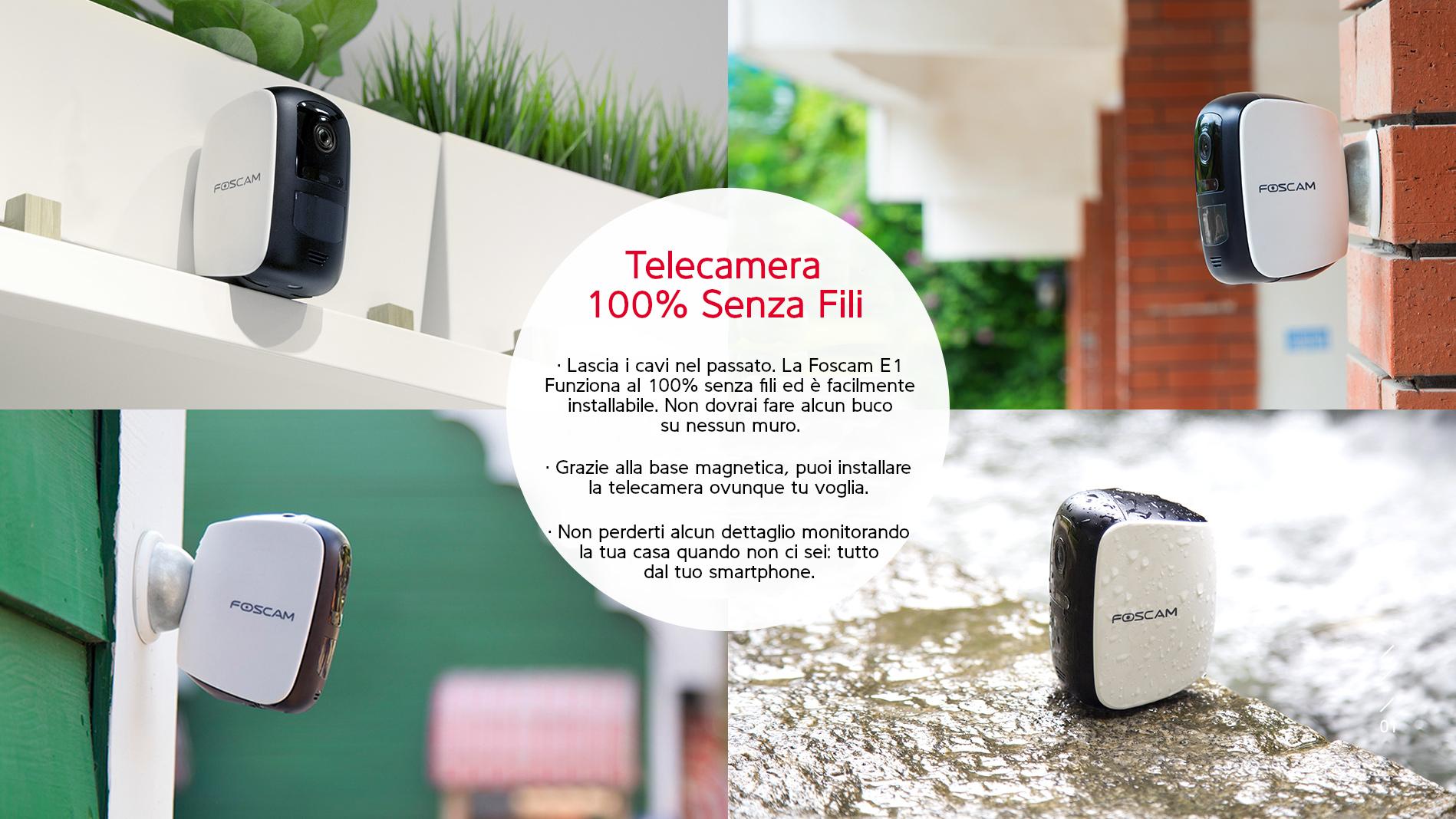 Telecamera IP per anziani - Domotica per Anziani Lookathome Foscam Italia
