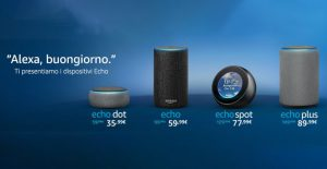 Amazon Alexa sbarca in Italia