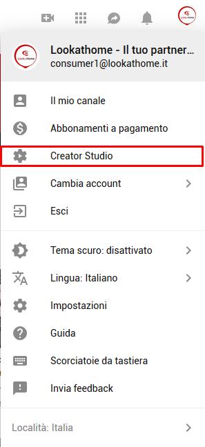 youtube con le telecamere foscam