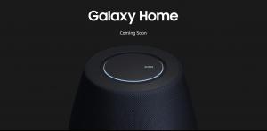 Smart speaker, in arrivo un altro dispositivo della famiglia Samsung?