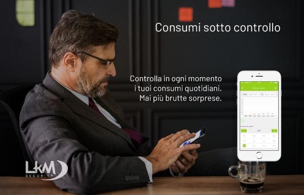 Scegli gli interruttori luce e tapparelle Smart Home Touch Wifi LKM Security per la tua casa