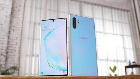 Samsung svela il Note 10 e il Note 10+