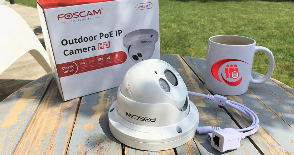 Telecamera PoE Foscam FI9853EP da esterno